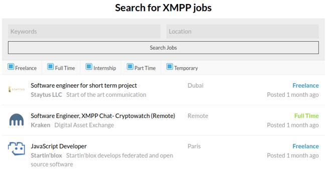 XMPP job board