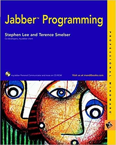 Cover: Jabber Programming