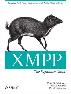 Cover: XMPP: The Definitive Guide