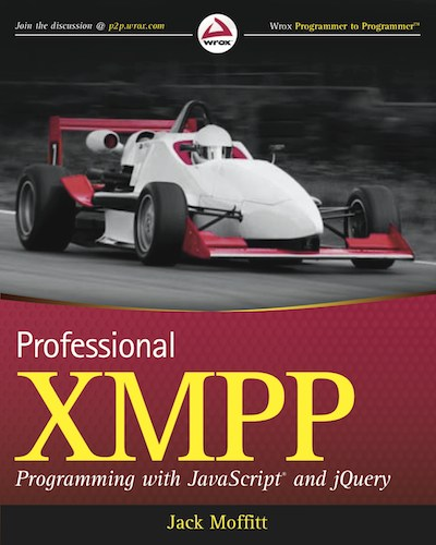 Cover: Professional XMPP Programming with JavaScript and jQuery